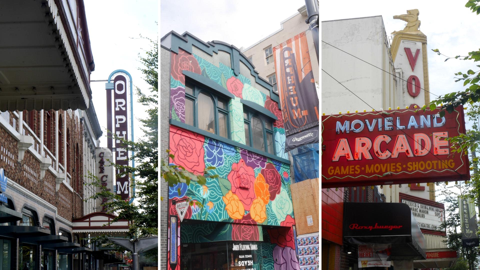 Vancouver granville street que voir que faire balade blog voyage canada arpenter le chemin