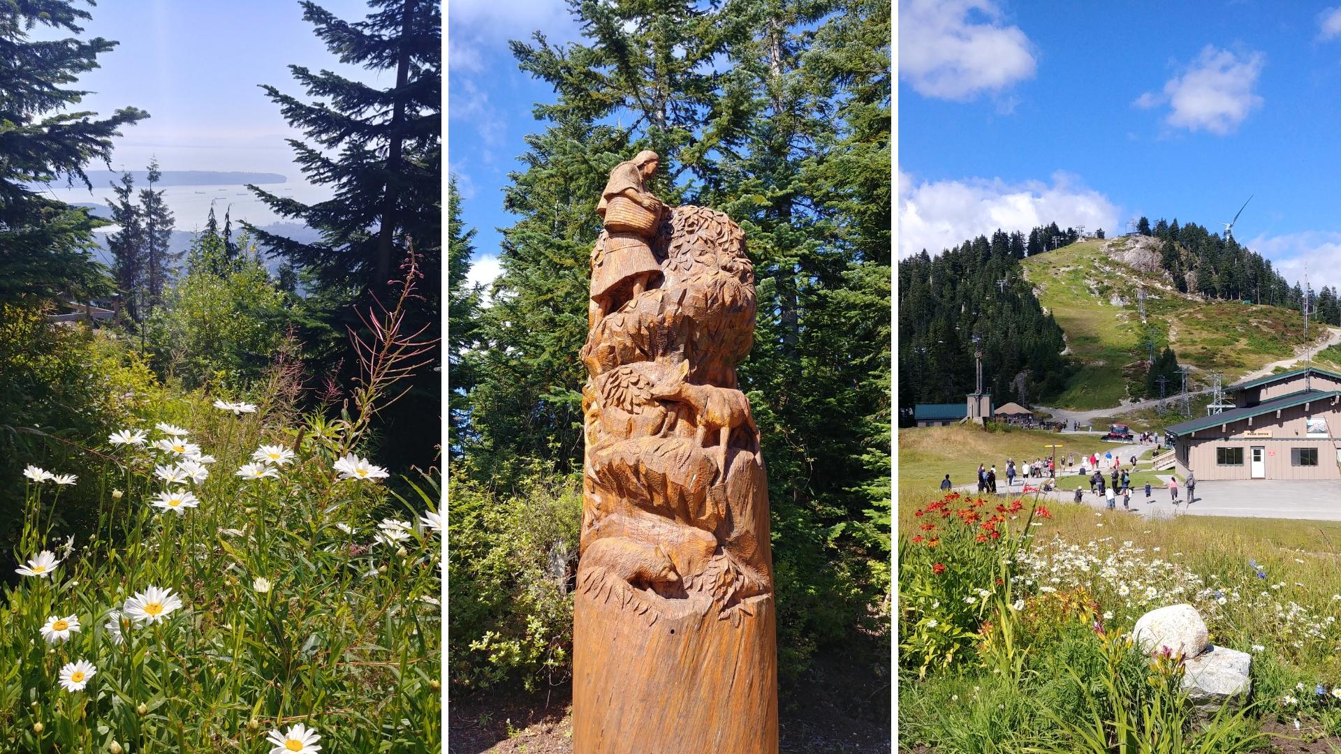 Vancouver grouse mountain randonnee blog voyage colombie-britannique canada arpenter le chemin