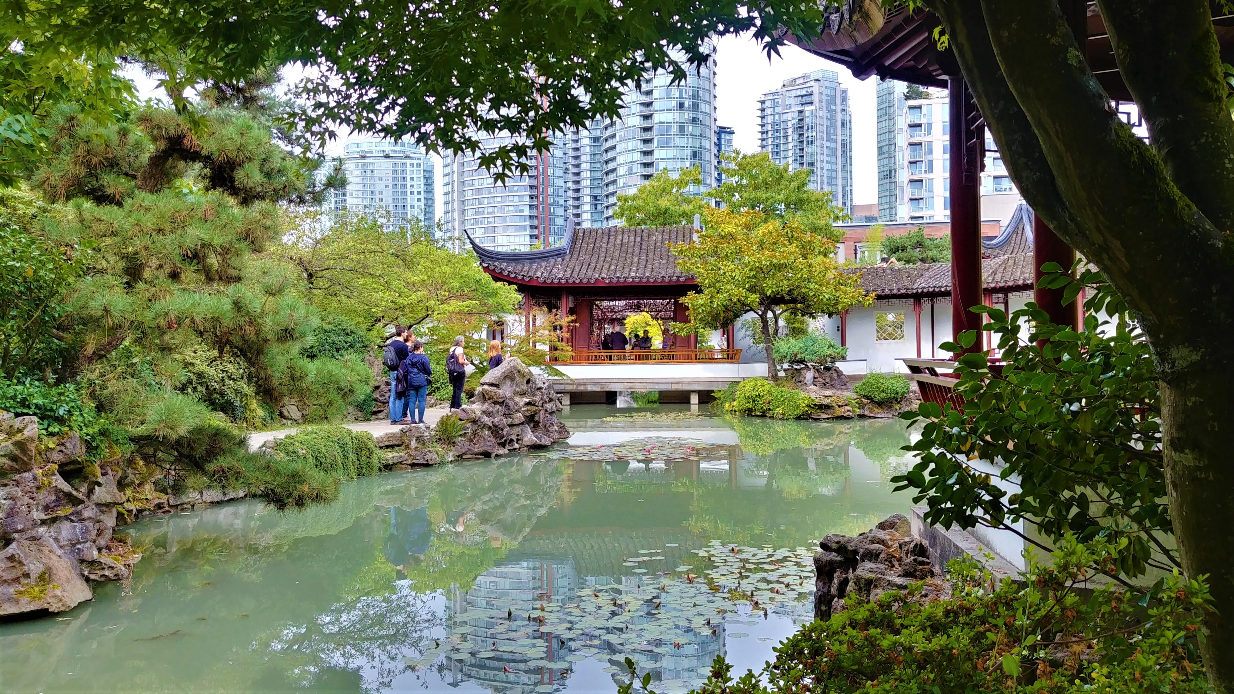 Vancouver jardin chinois dr sun yat-sen que voir voyage ouest canada blog voyage arpenter le chemin