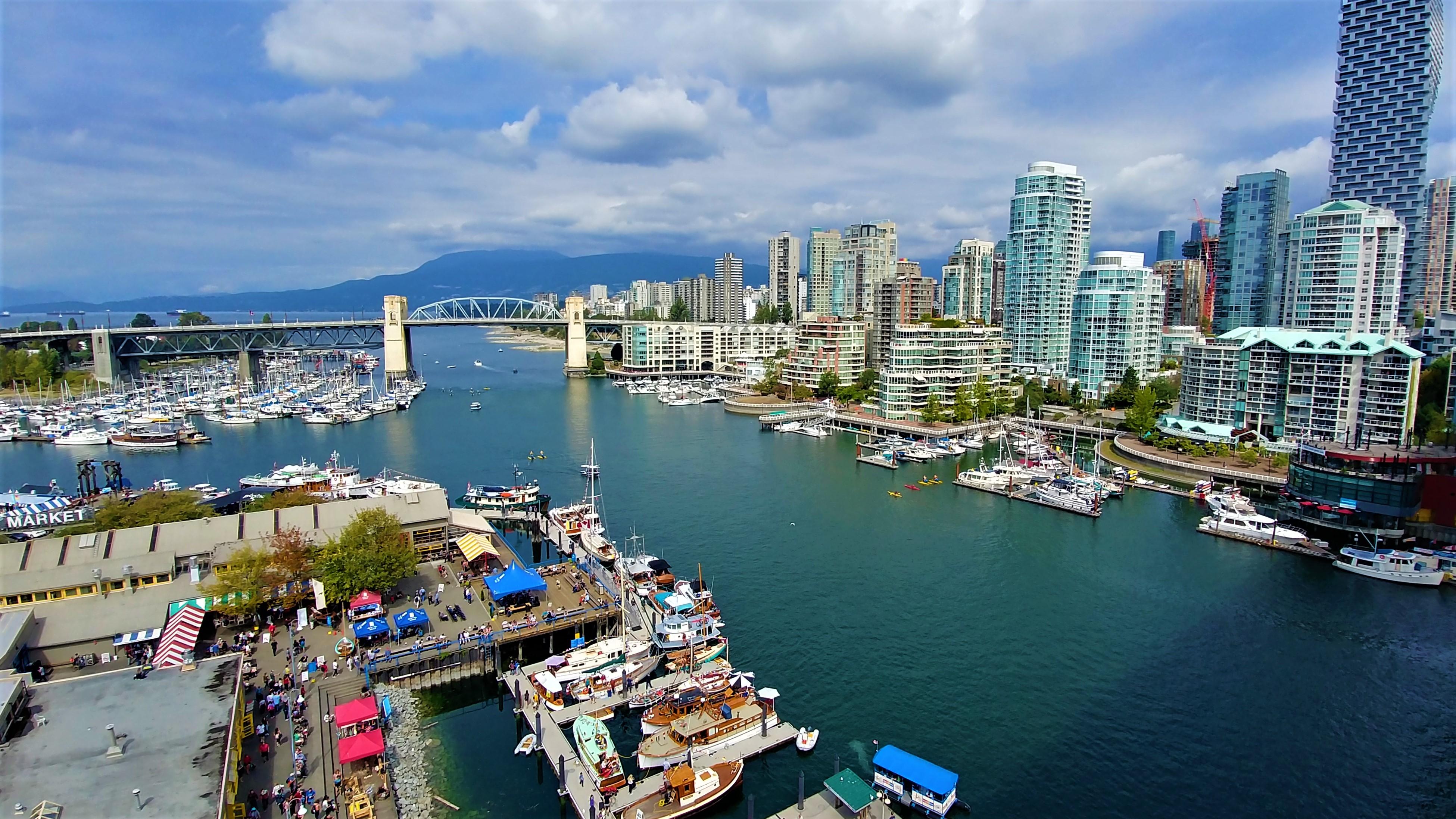 Vancouver visiter Granville Island ou manger