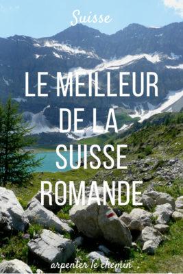 immanquables voyage suisse romande