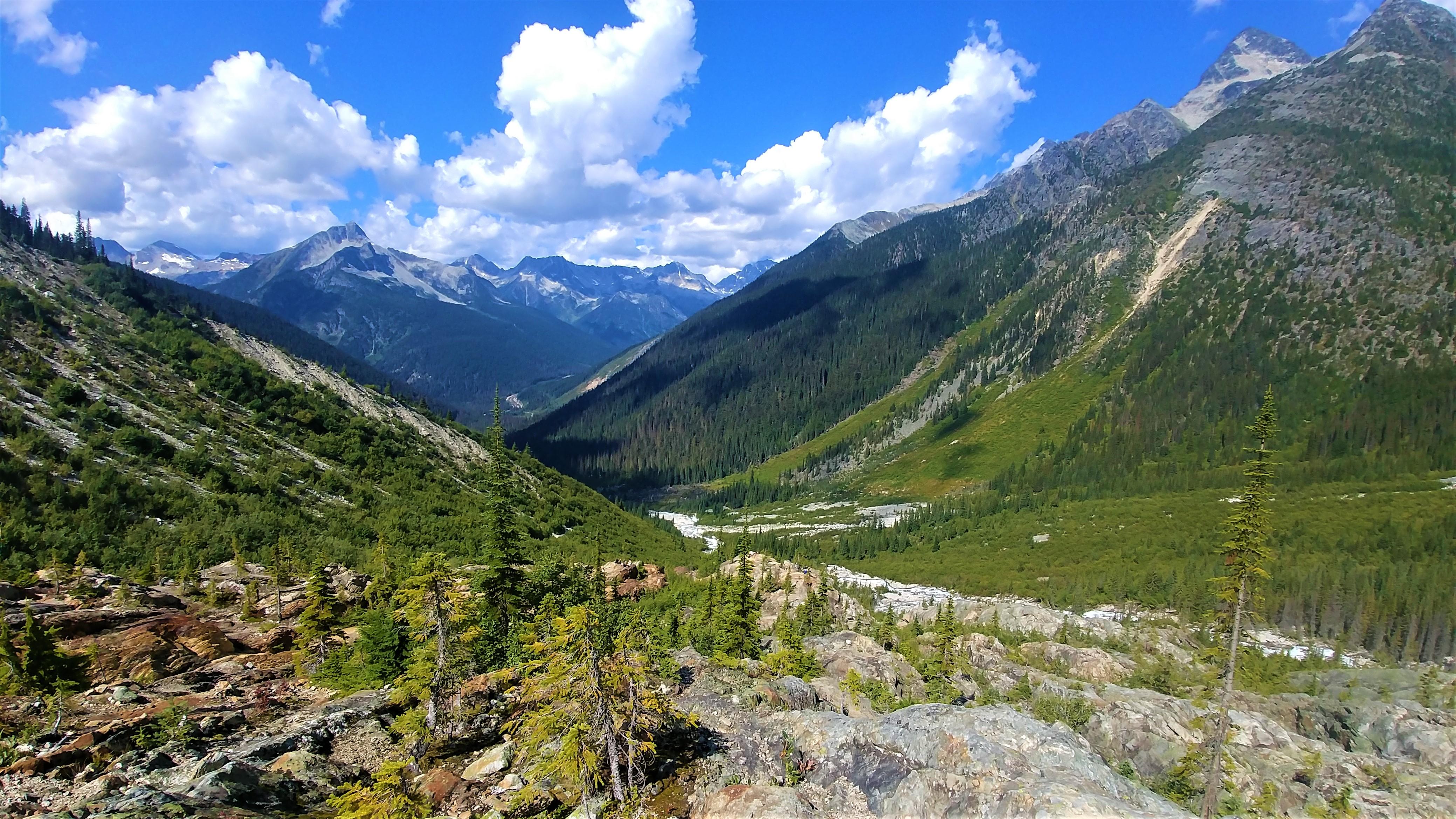 revelstoke parc national glaciers sentier grand glacier