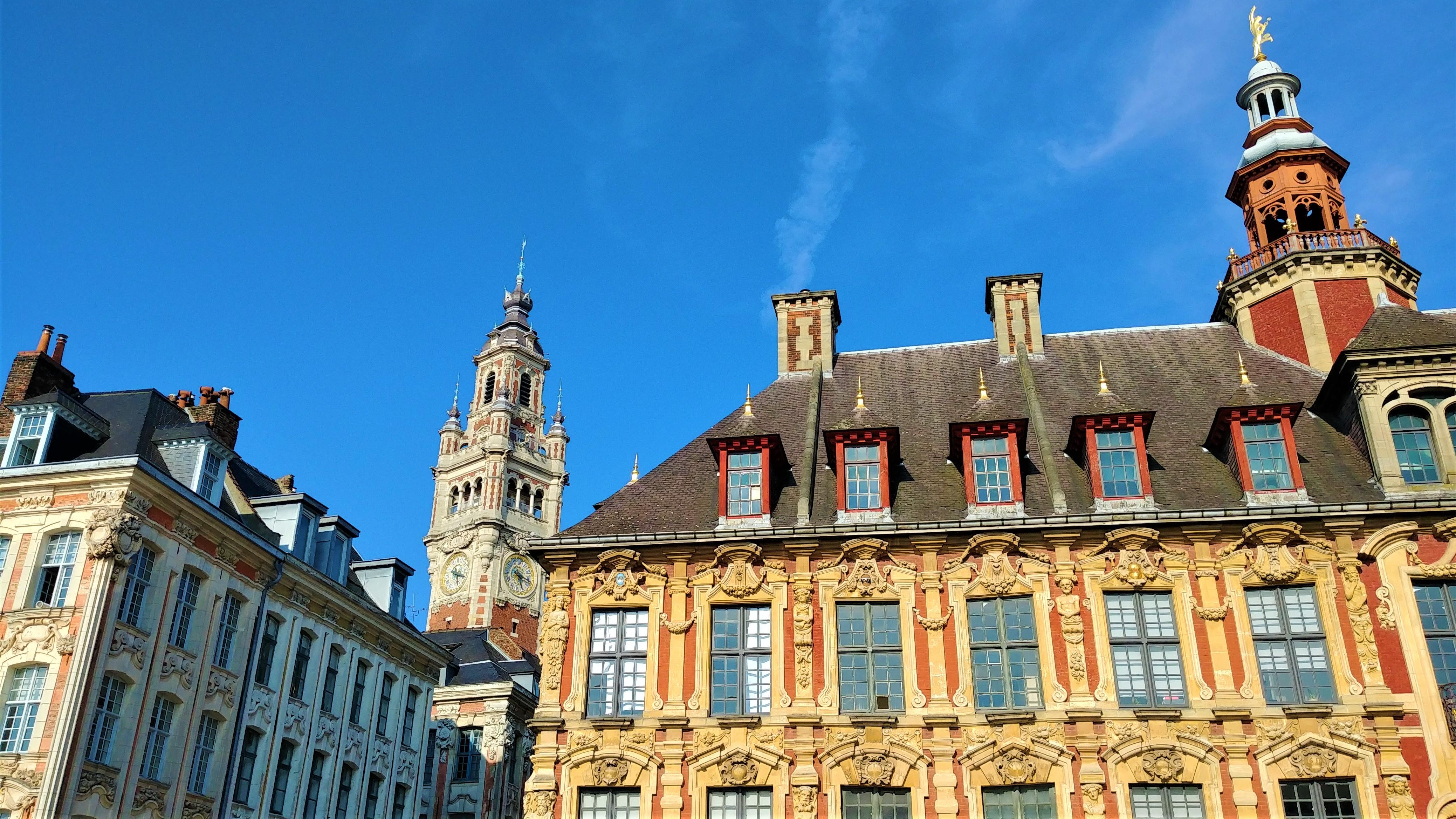 Lille grand'place que voir citytrip itineraire blog voyage arpenter le chemin