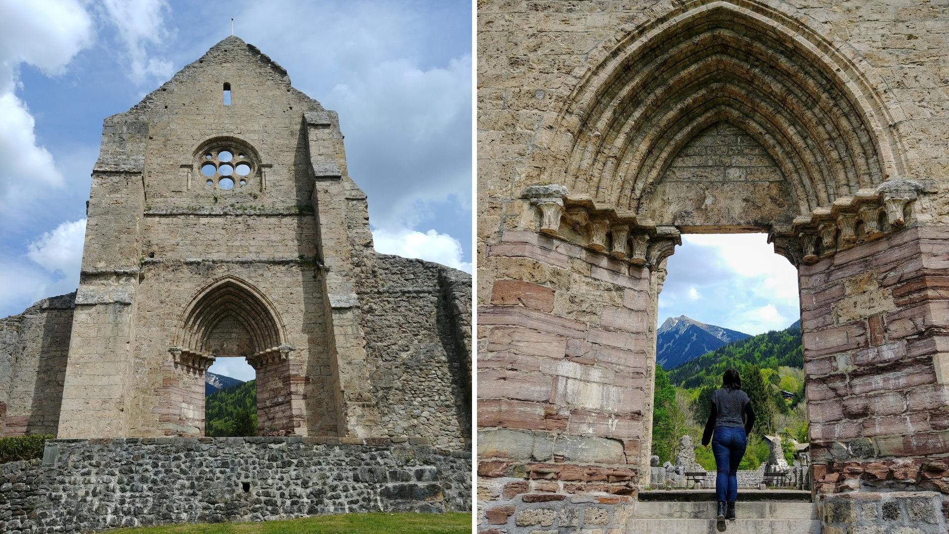 abbaye saint-jean-d'aulps haute-savoie infos pratiques blog voyage arpenter le chemin