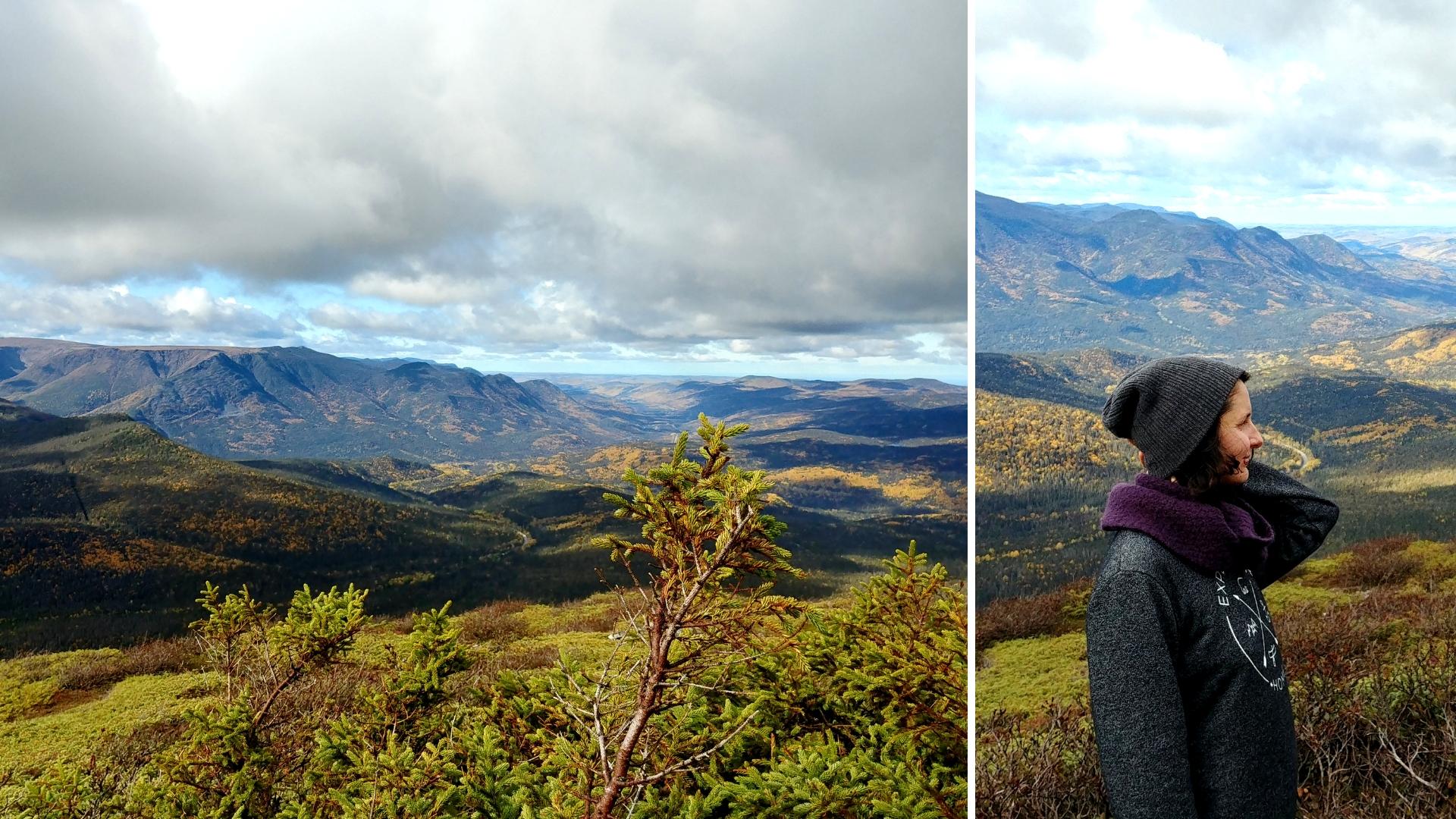 belvedere falaise randonnee gaspesie automne blog voyage canada road-trip arpenter le chemin