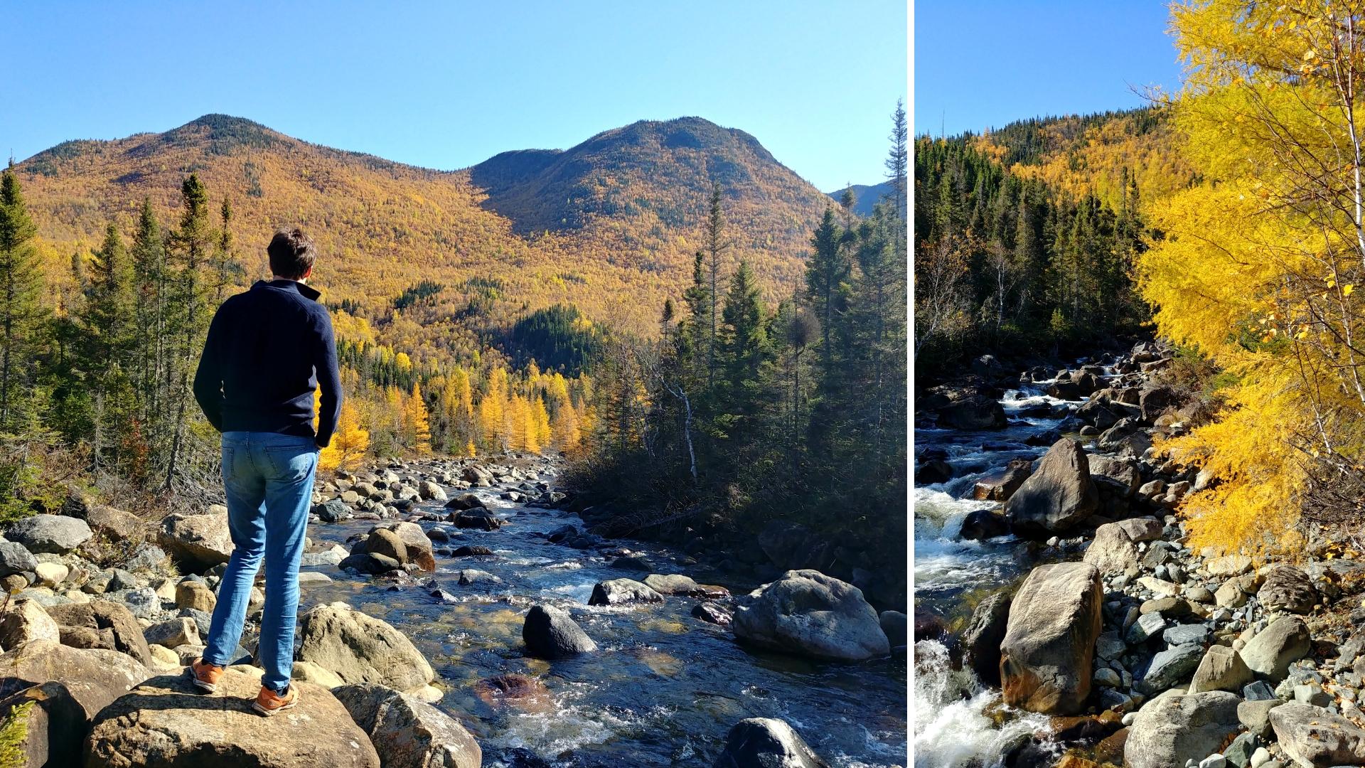 chutes du diable parc national gaspesie automne blog voyage canada road-trip arpenter le chemin