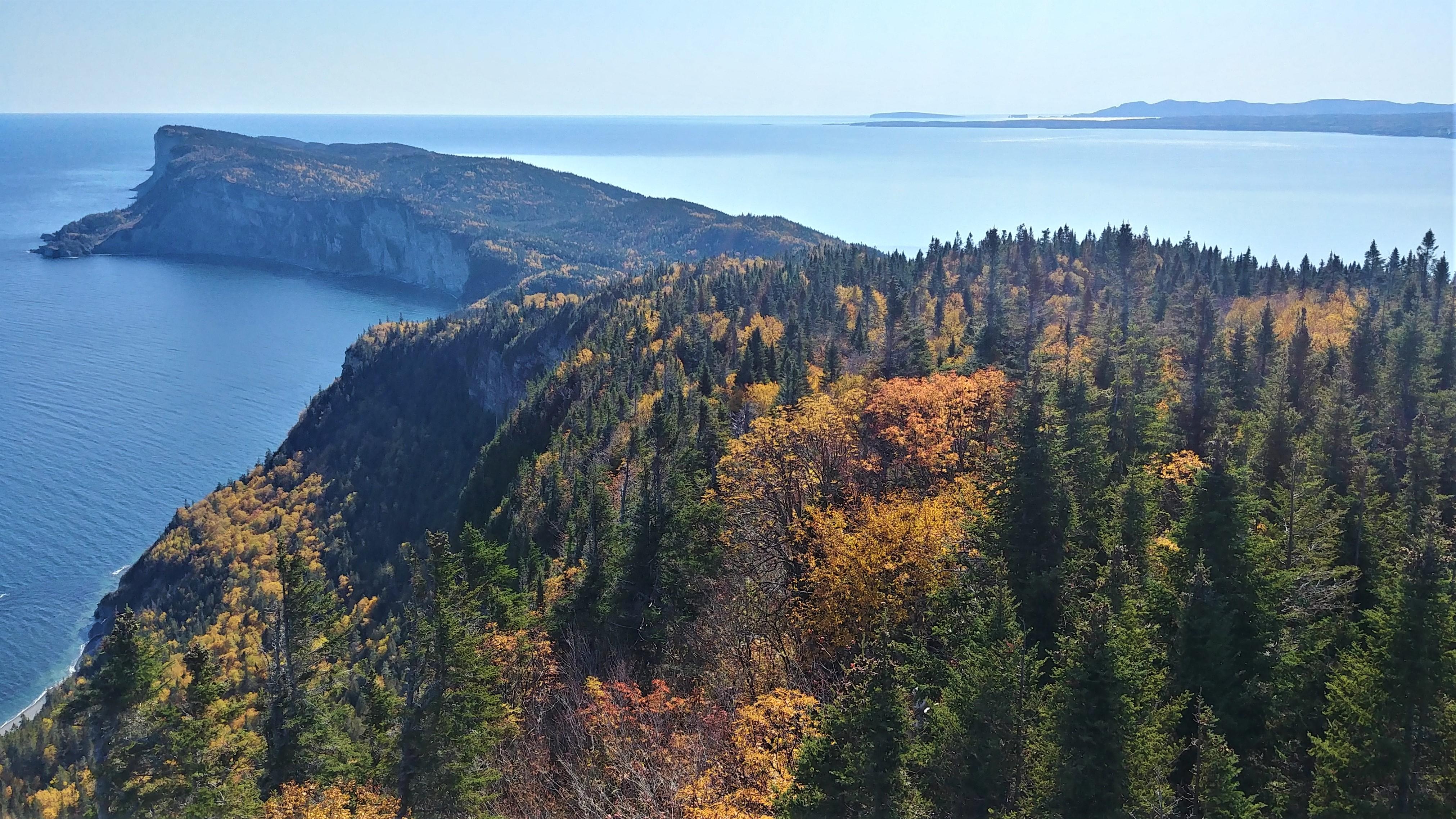 forillon mont saint-alban automne gaspesie blog voyage canada arpenter le chemin