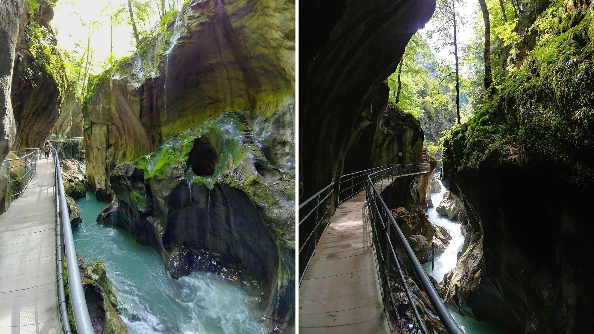 pont du diable saint-jean-d'aulps haute-savoie blog voyage arpenter le chemin