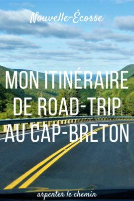 que voir ou dormir cap-breton piste cabot trail nouvell-ecosse blog voyage canada arpenter le chemin