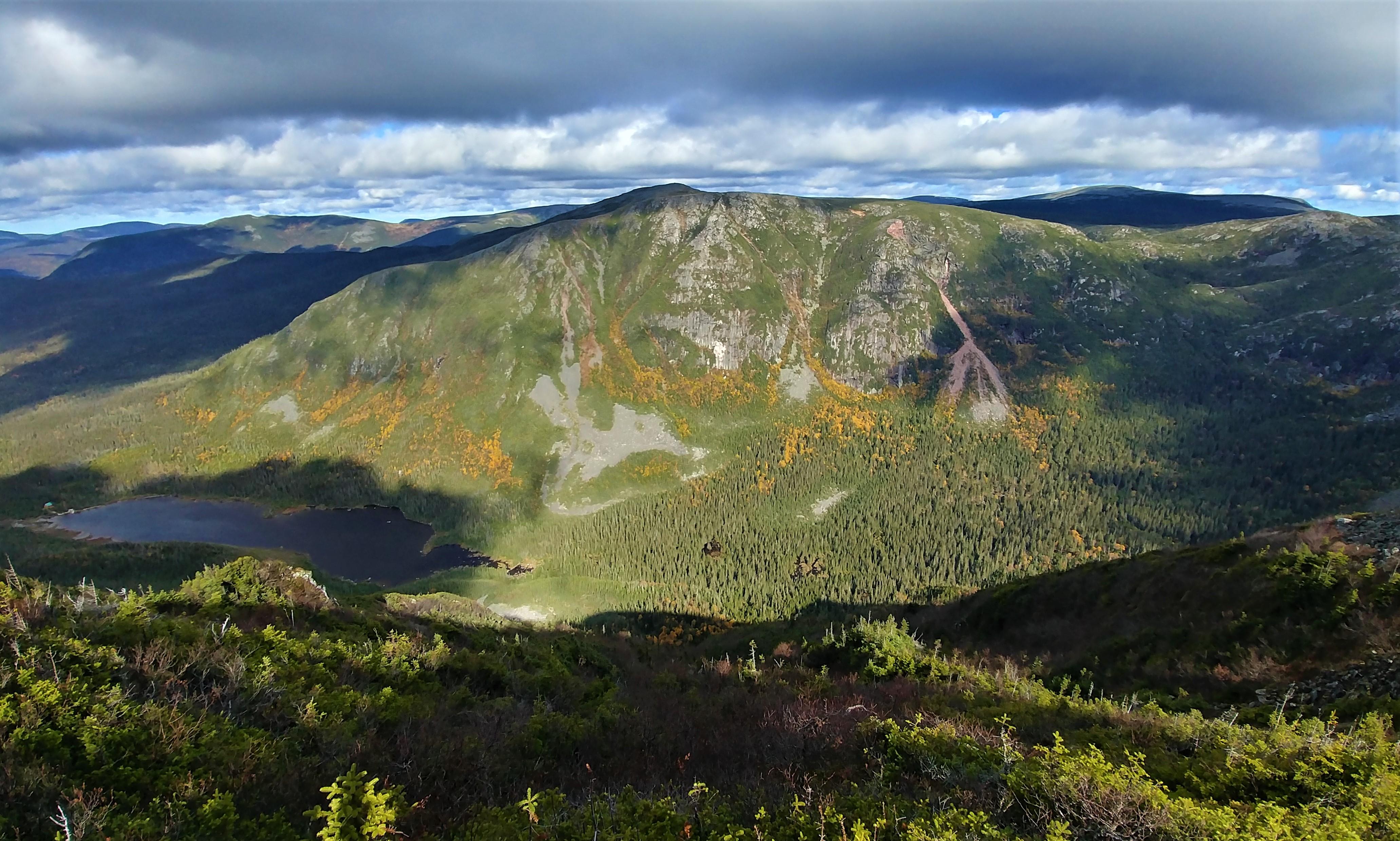 randonnee difficile mont joseph fortin parc national gaspesie infos pratiques blog road-trip canada arpenter le chemin