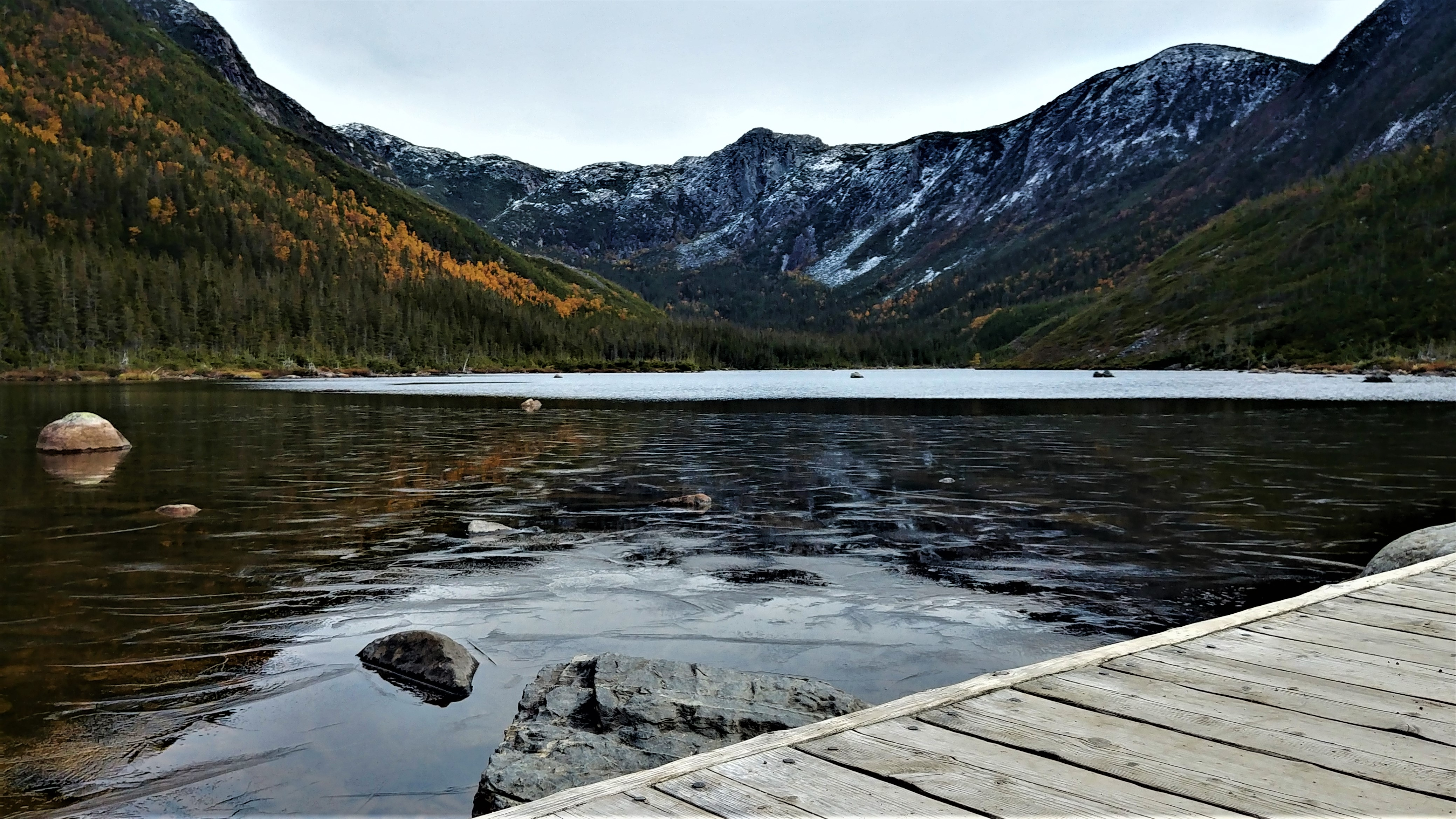 randonnee facile parc national gaspesie lac aux americains road-trip canada infos pratiques arpenter le chemin