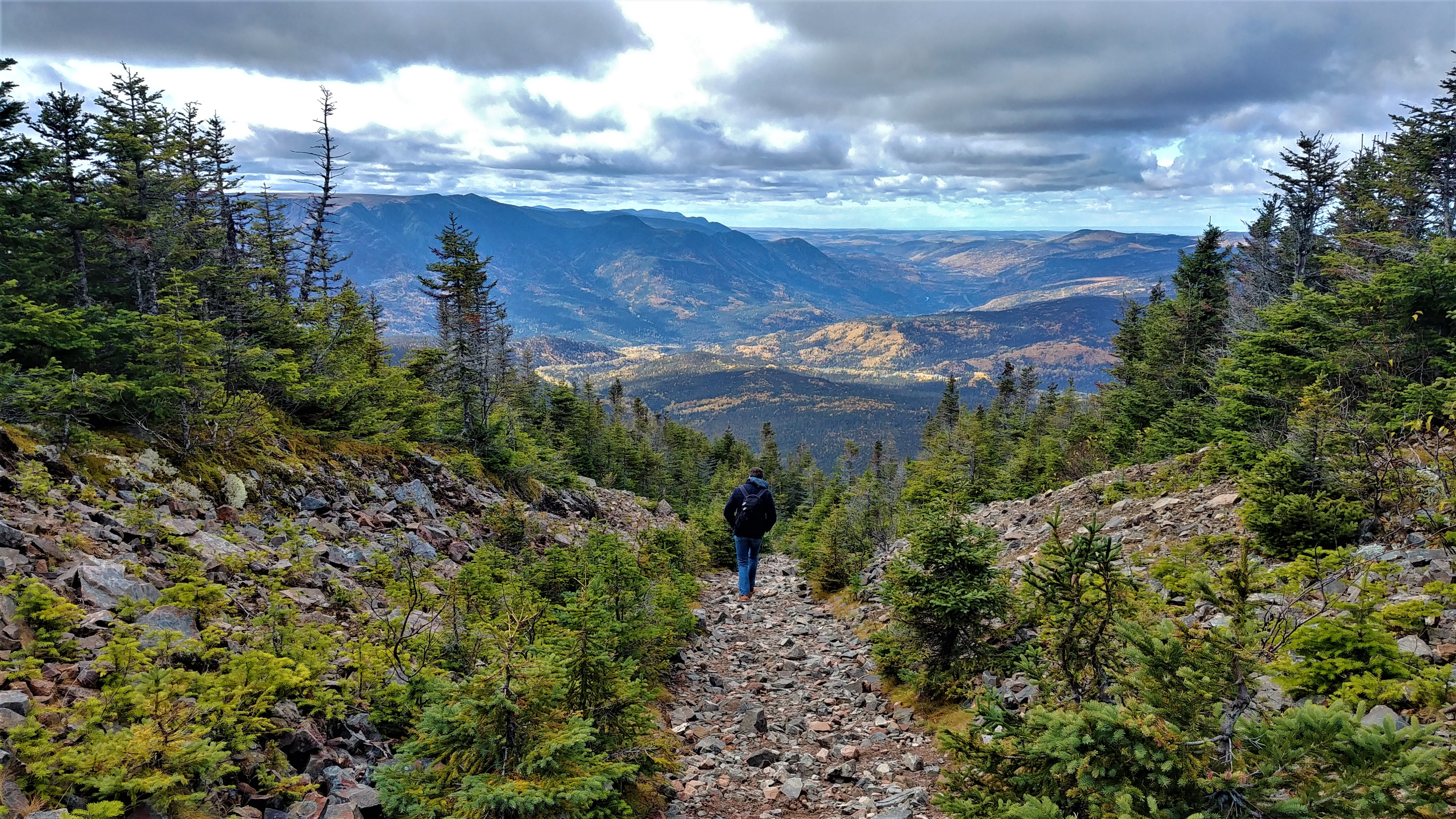 randonnee intermediaire mont joseph fortin parc gaspesie blog voyage quebec arpenter le chemin
