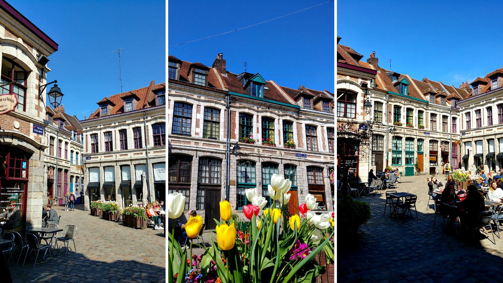 vieux Lille place aux oignons vieil estaminet que voir blog voyage france arpenter le chemin