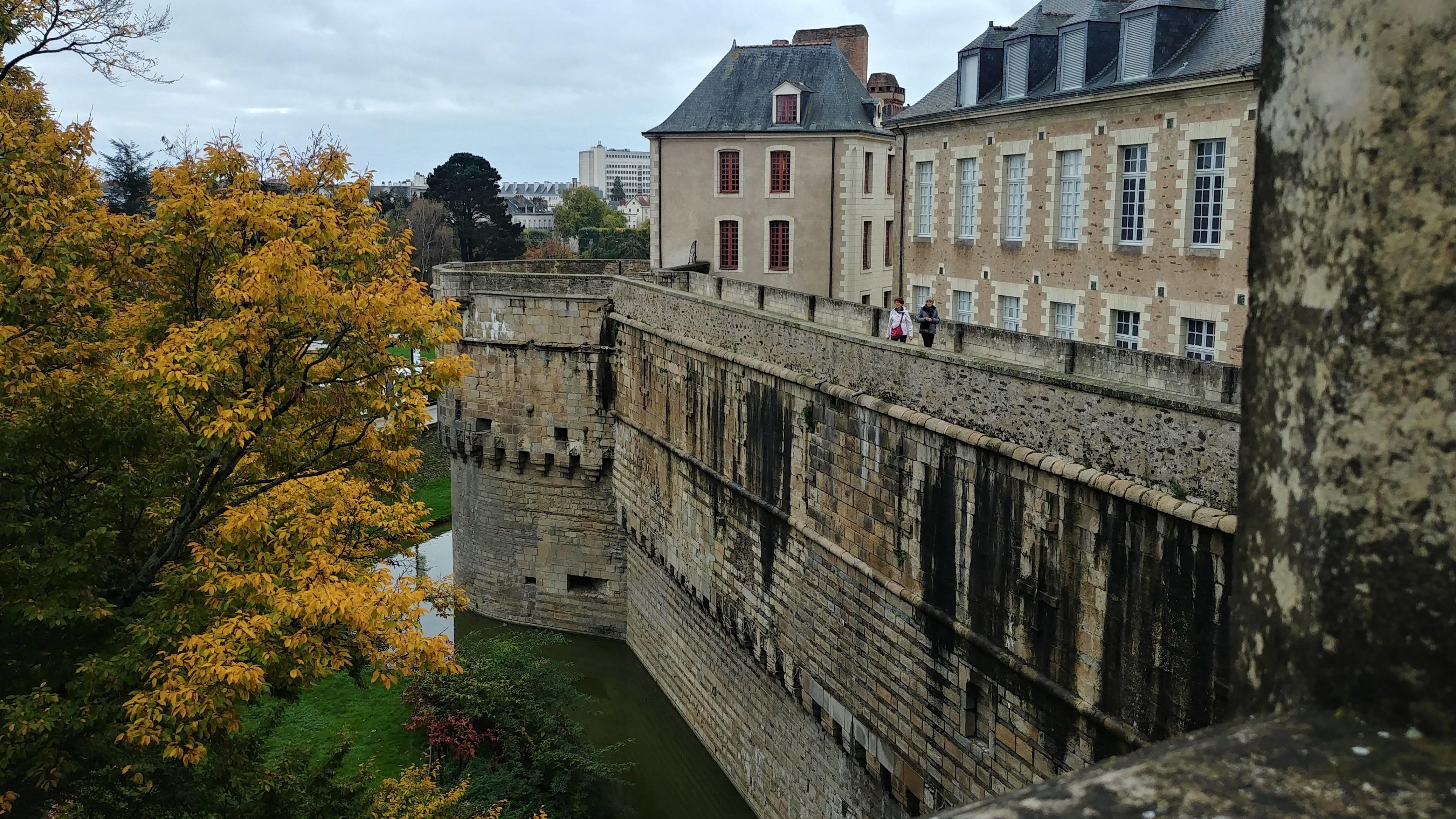 Nantes visite automne chateau bretagne blog voyage arpenter le chemin