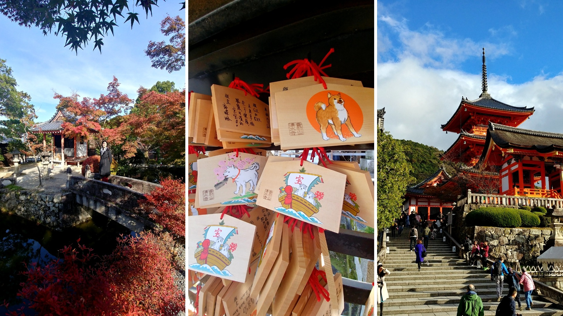 kyoto automne kiyomizu-dera