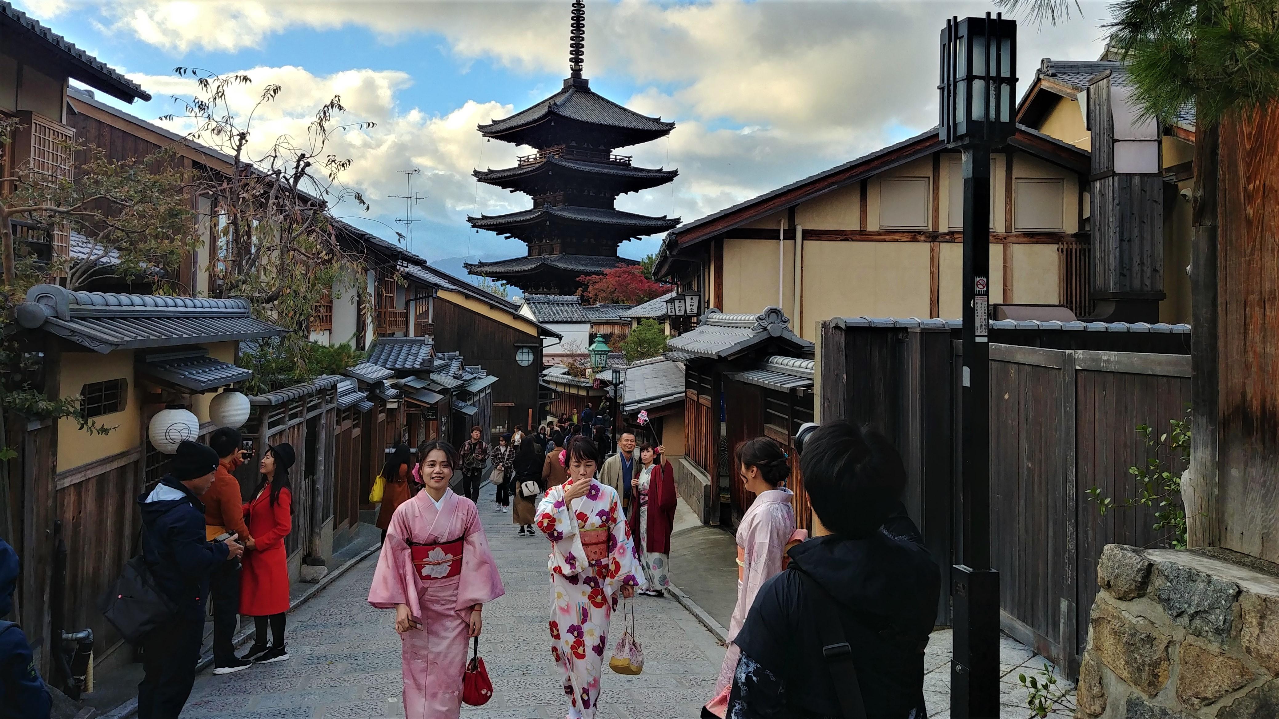 kyoto japon surtourisme automnr blog voyage asie arpenter le chemin