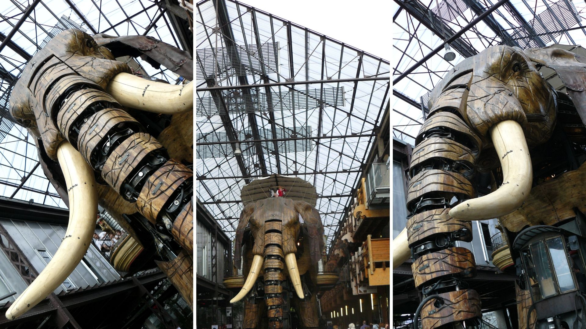 nantes machines de l'ile elephant blog voyage france arpenter le chemin