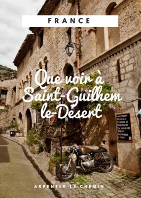 Que voir Saint-Guilhem Herault voyage France