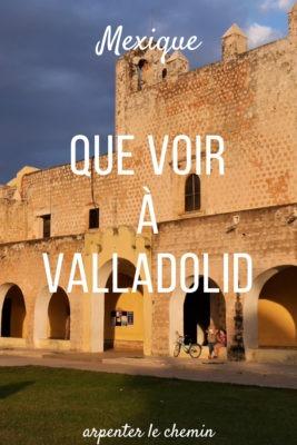 Que voir Valladolid Mexique