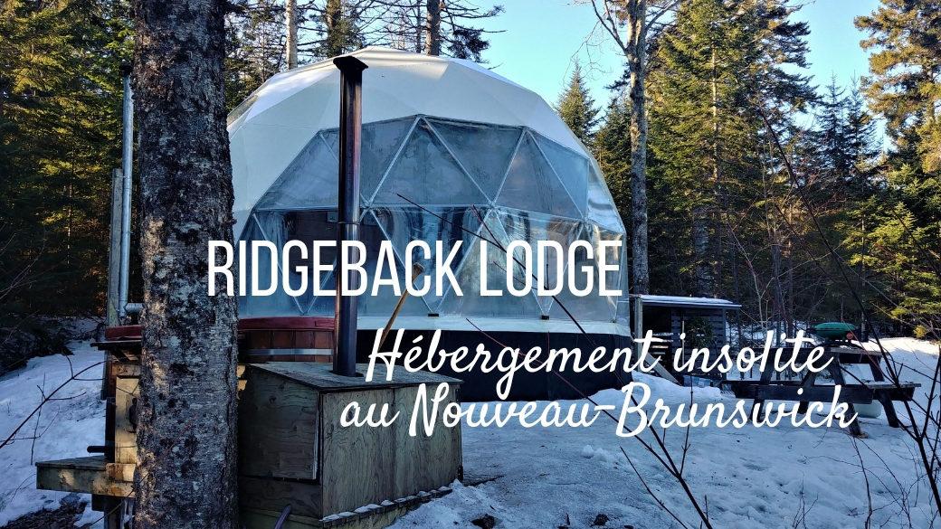 Ridgeback Lodge glamping