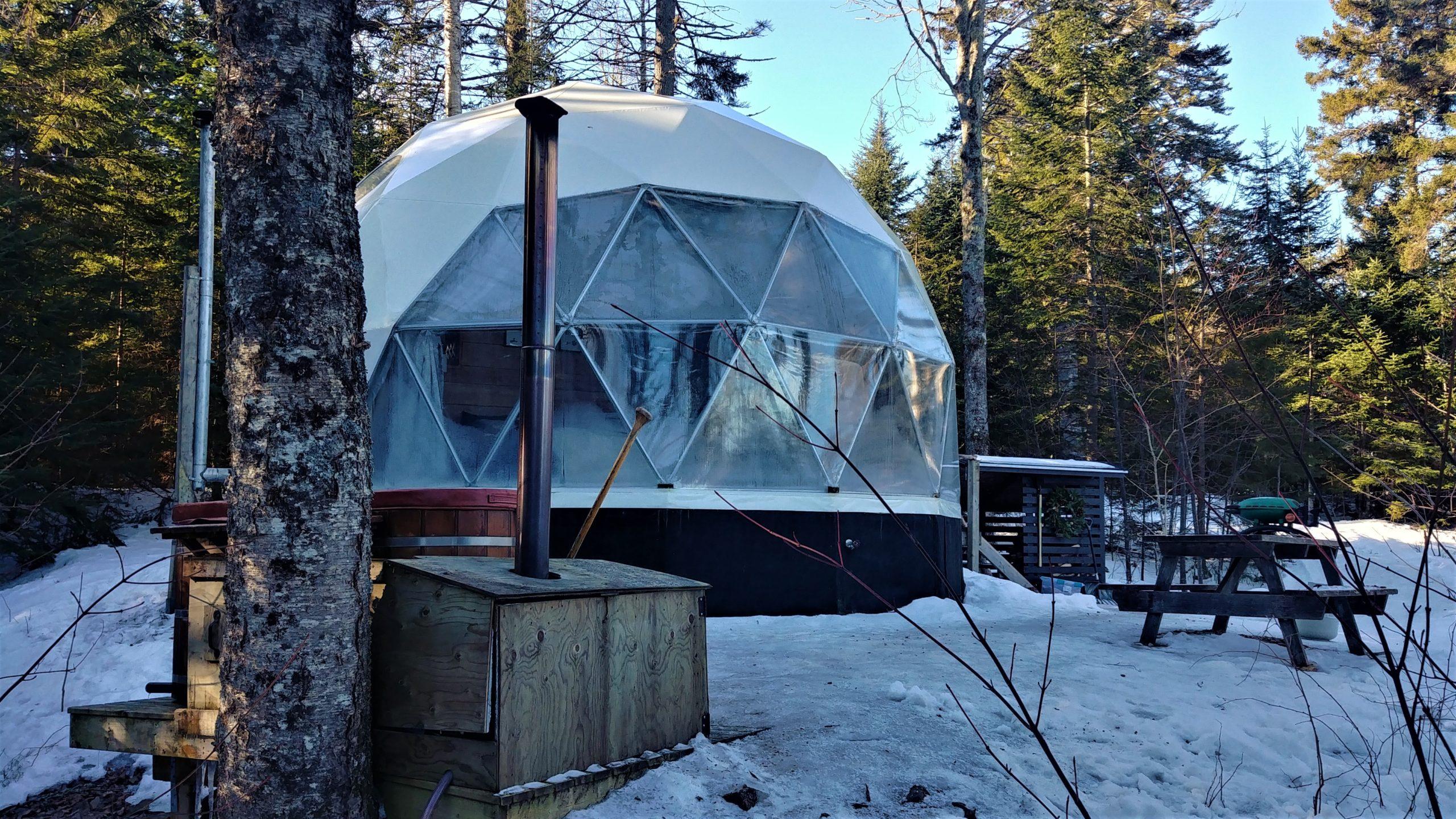 Ridgeback lodge hebergement insolite nouveau-brunswick blog voyage canada