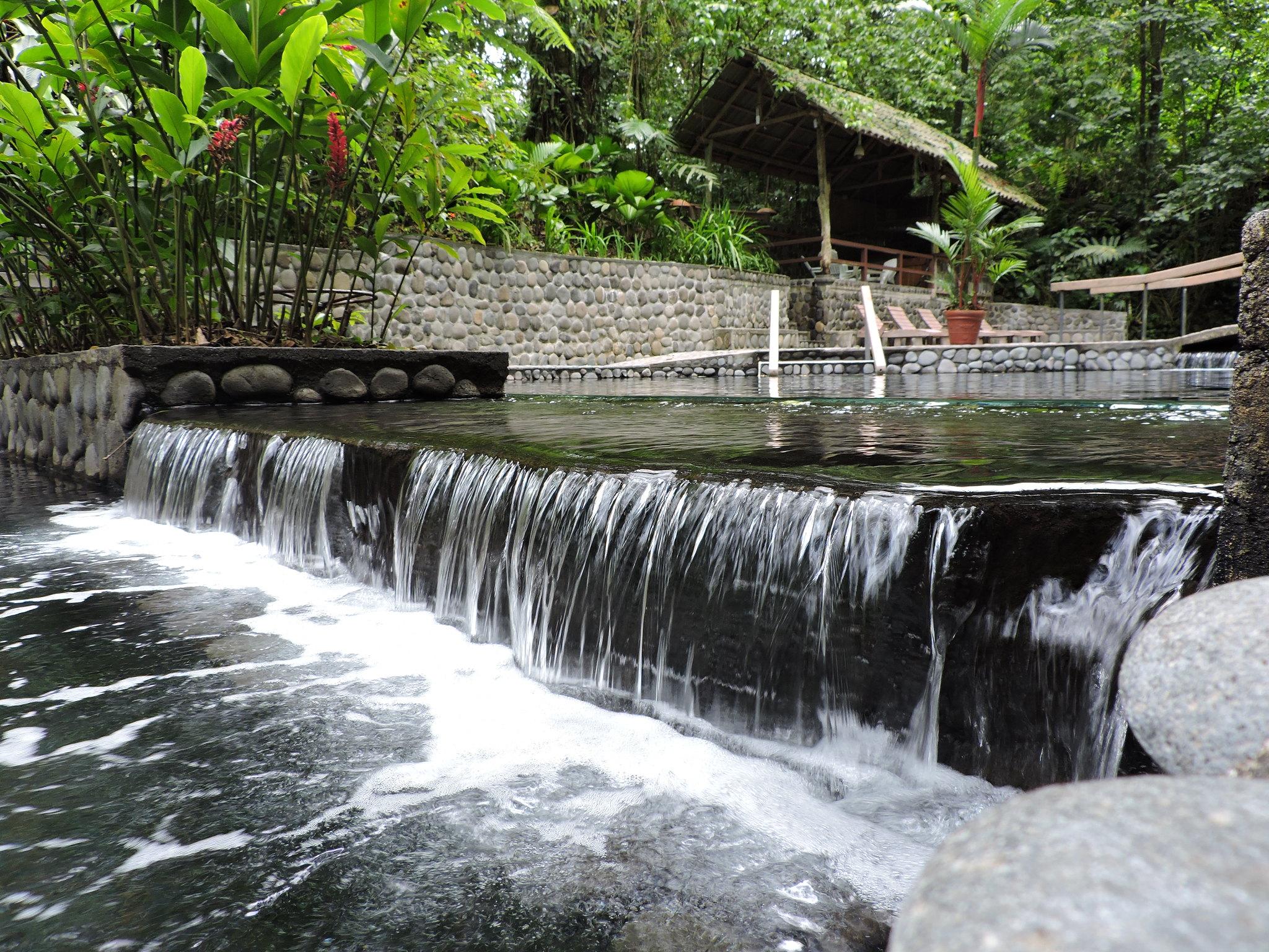 Sources chaudes Costa Rica