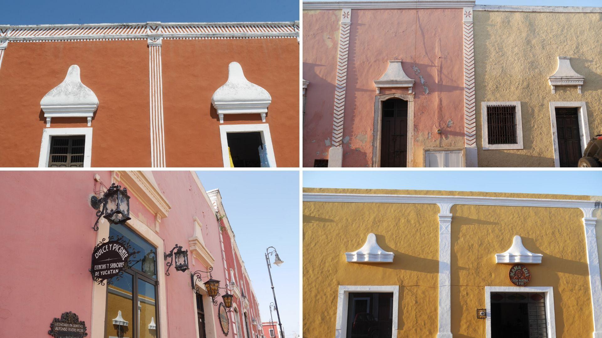 valladolid facades colorees blog voyage mexique arpenter le chemin