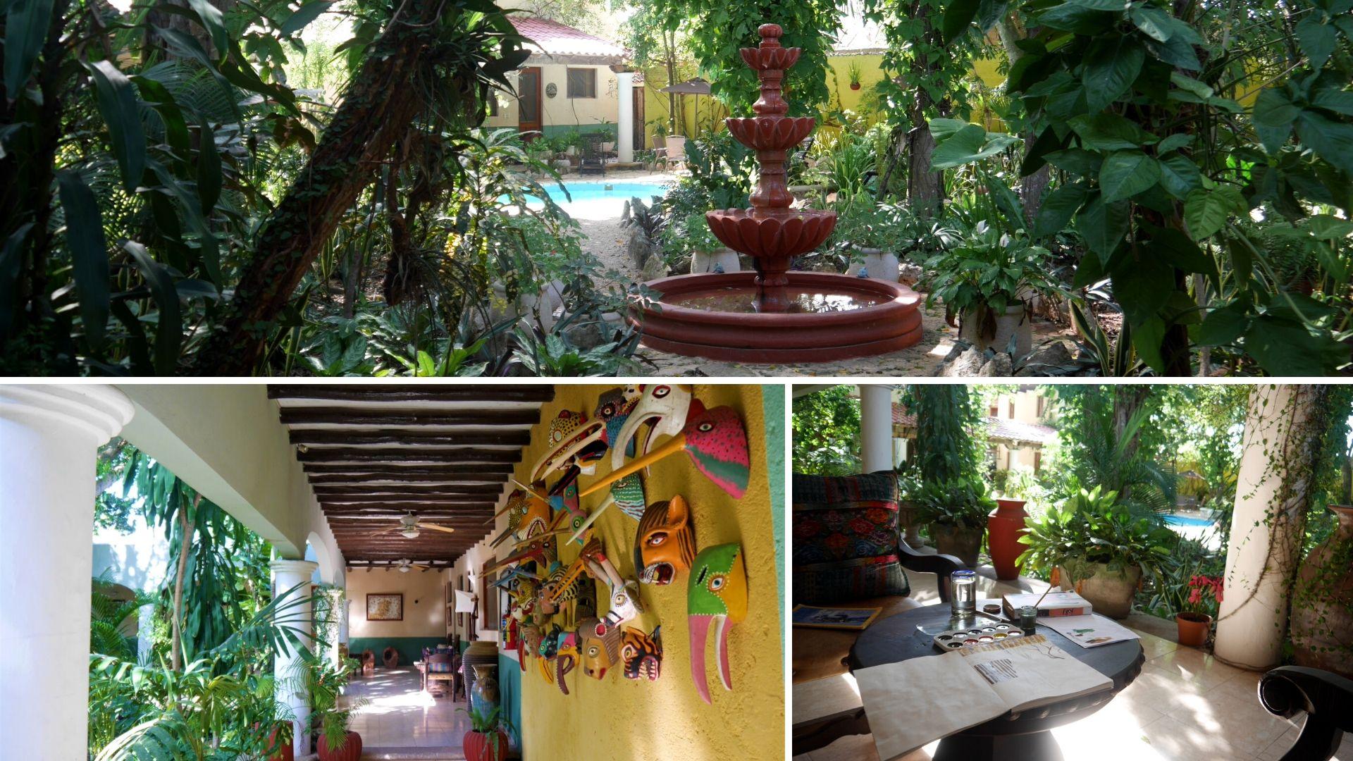 valladolid ou dormir hotel casa quetzal blog voyage mexique arpenter le chemin