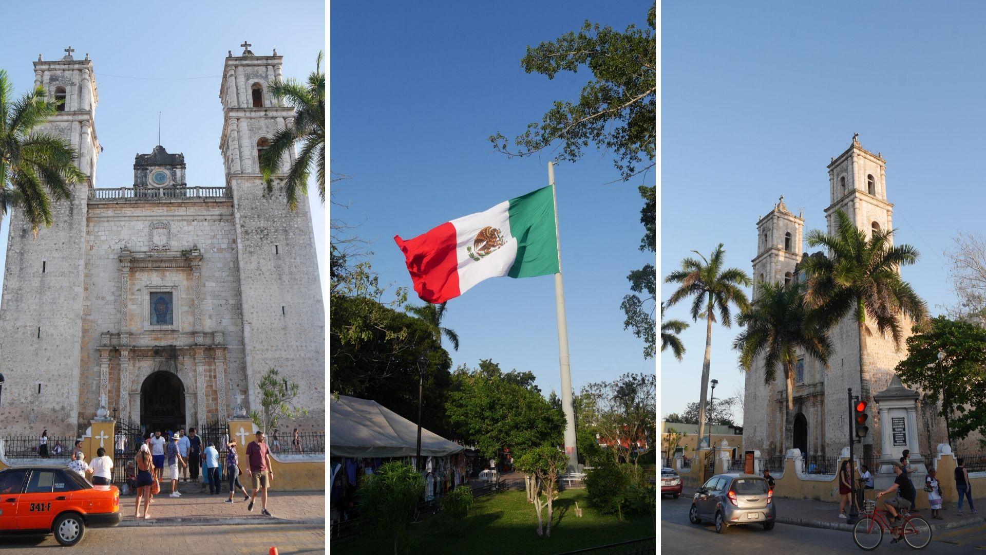 valladolid parque central blog voyage mexique arpenter le chemin
