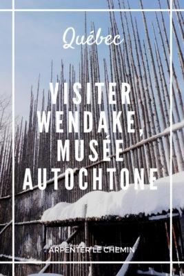 Visiter Wendake, musée autochtone près de Québec