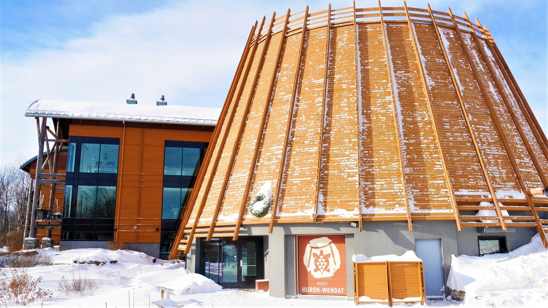 Wendake visiter musee huron Quebec que voir blog voyage canada arpenter le chemin