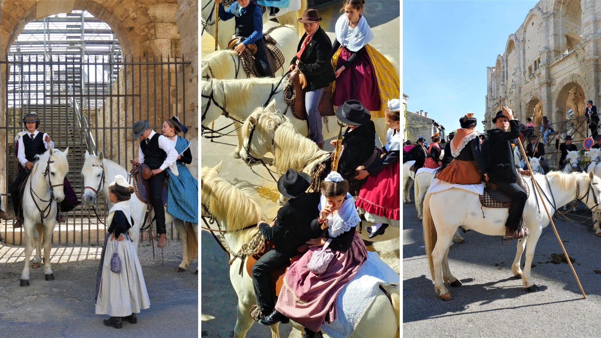 Arles fête des guardians