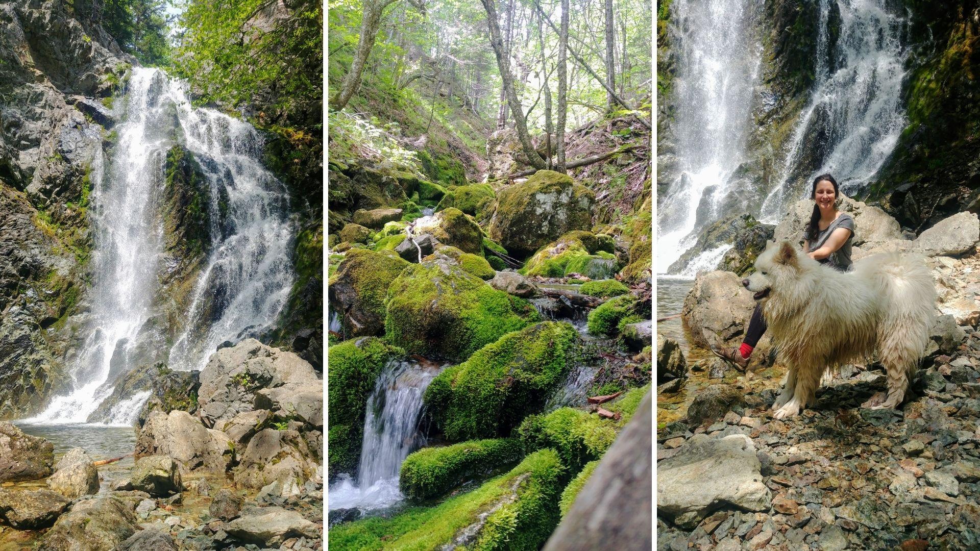 Chutes Third Vault Falls - Parc national de Fundy NB Canada