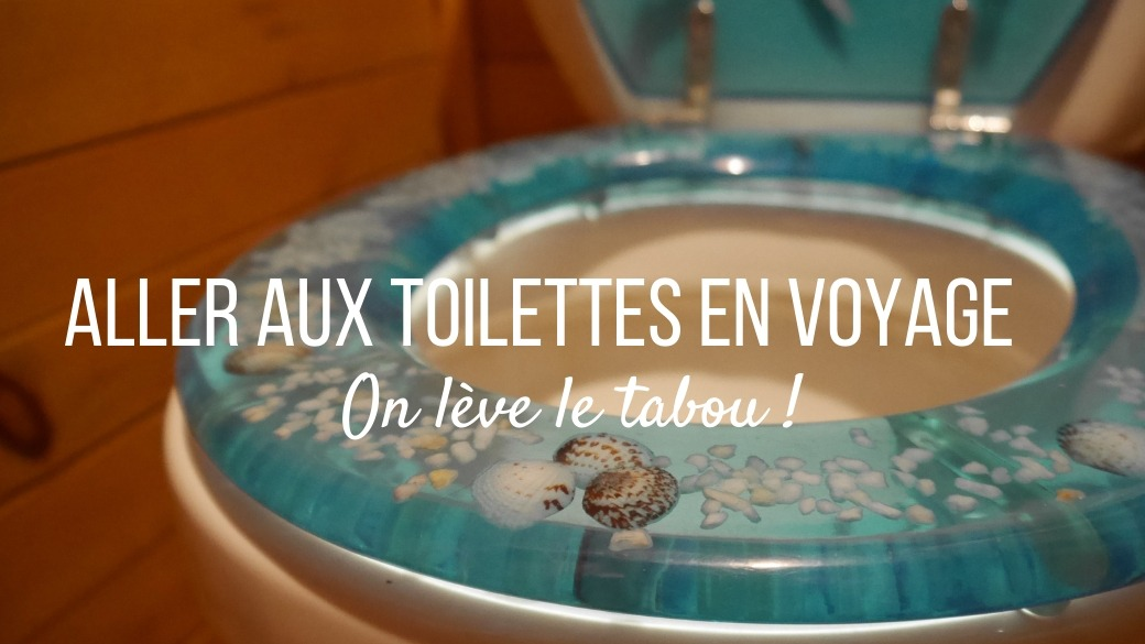 Toilettes en voyage