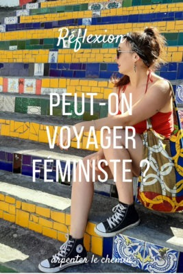 Voyager féministe et militant