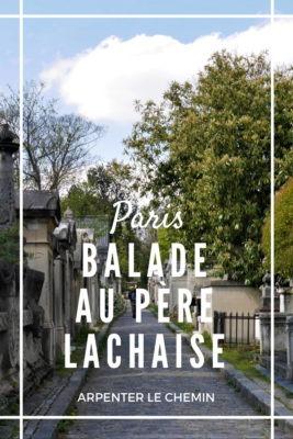Promenade au cimetière du Père-Lachaise, Paris