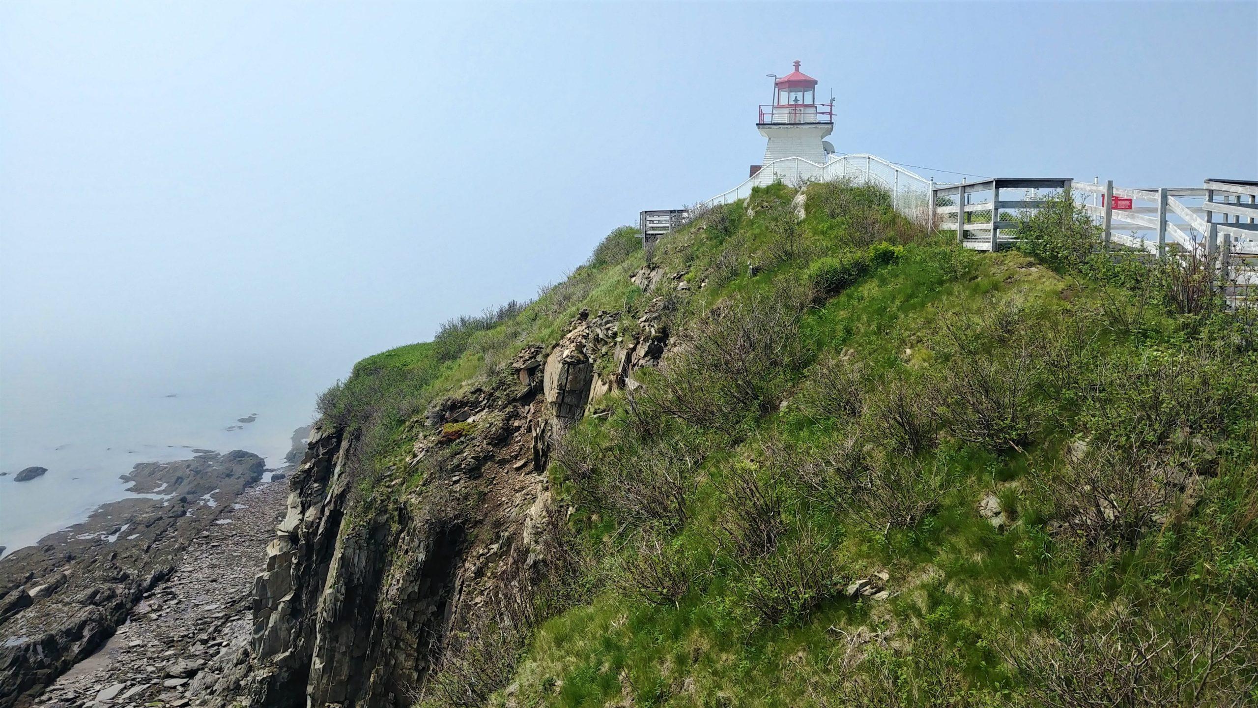 Cape Enragé phare nouveau-brunswick canada voyage