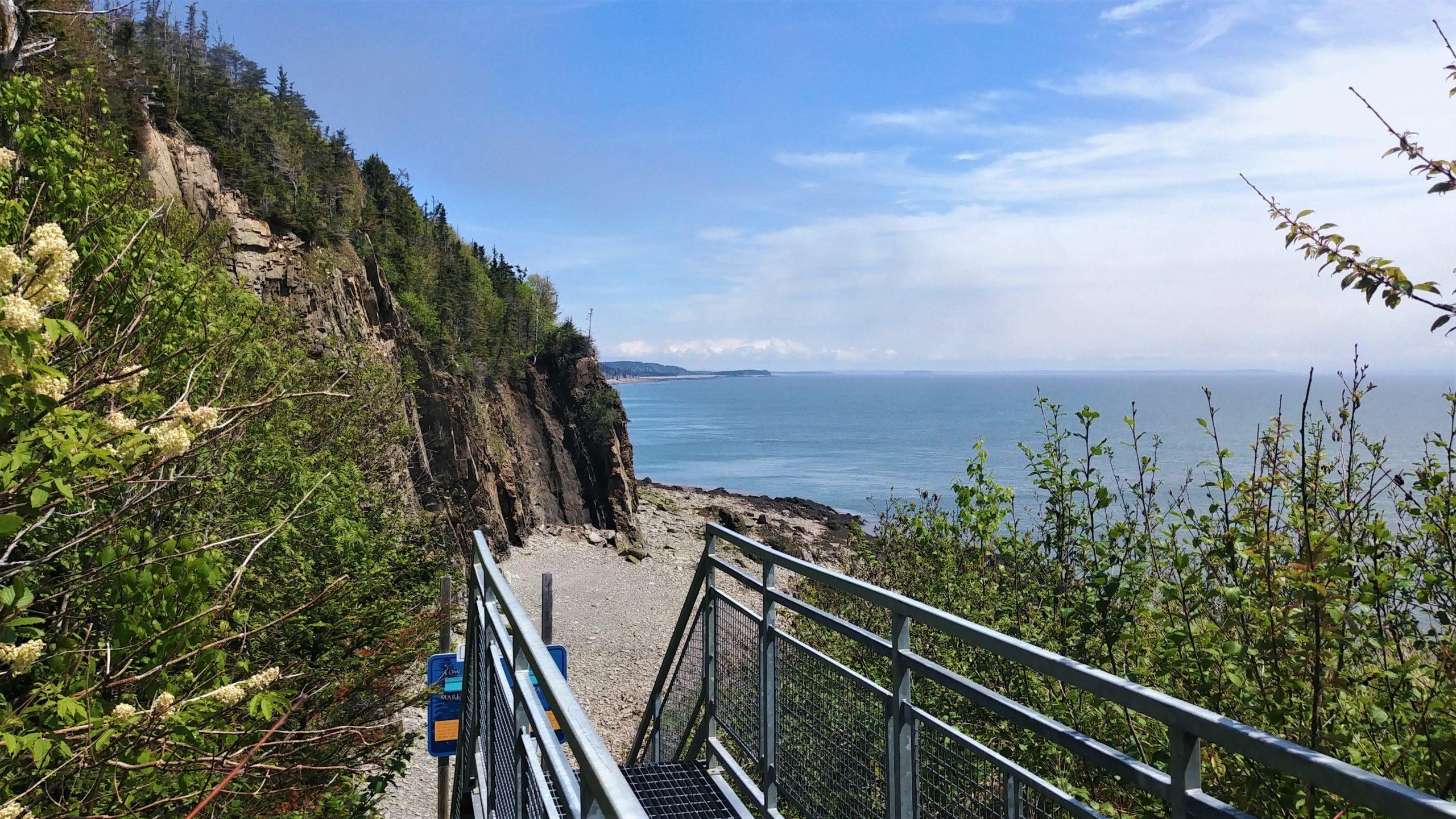 Cape Enrage Nouveau-Brunswick blog voyage canada road-trip arpenter le chemin