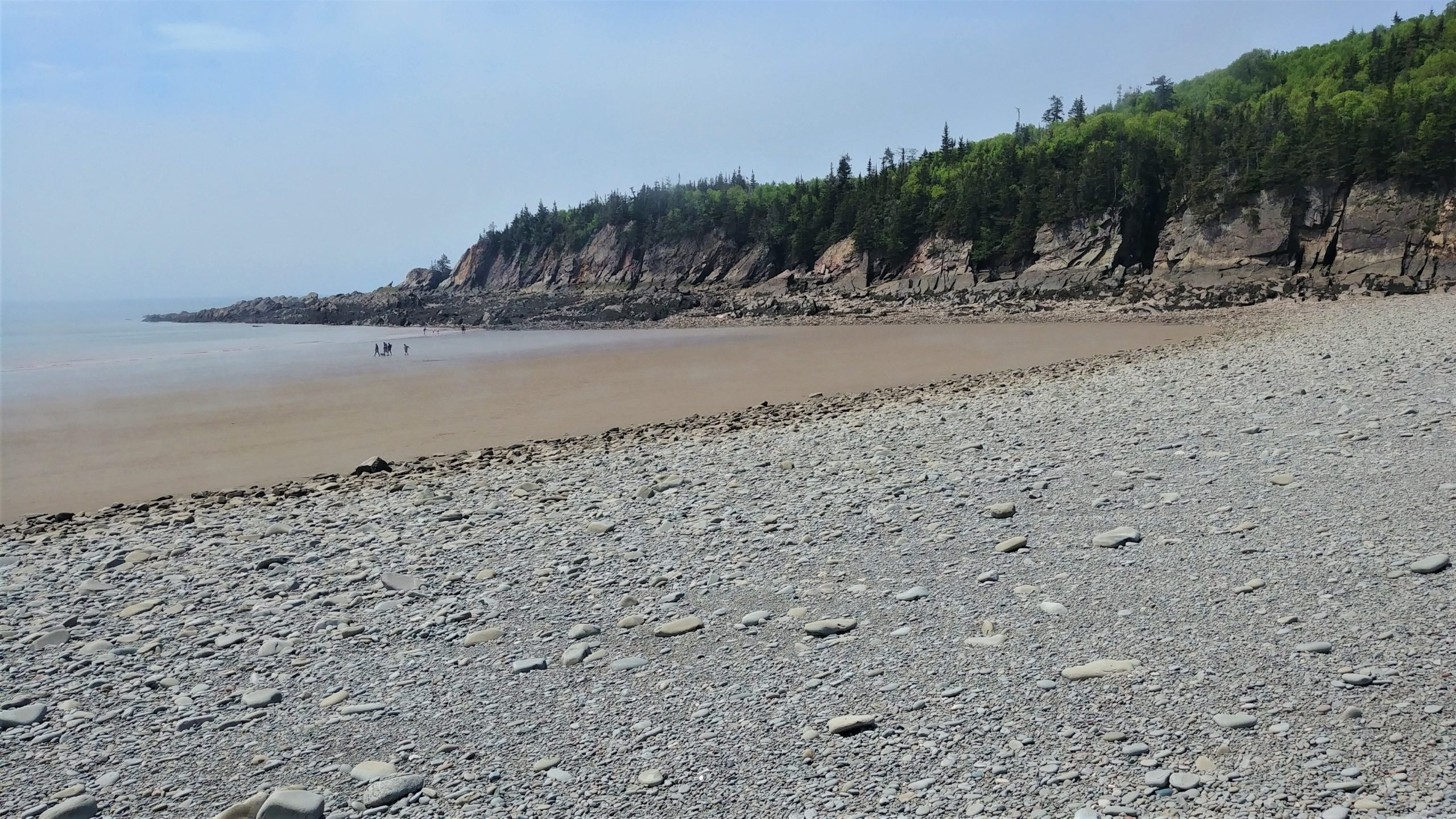Cape Enrage Pebble Beach Baie de Fundy blog voyage canada road-trip