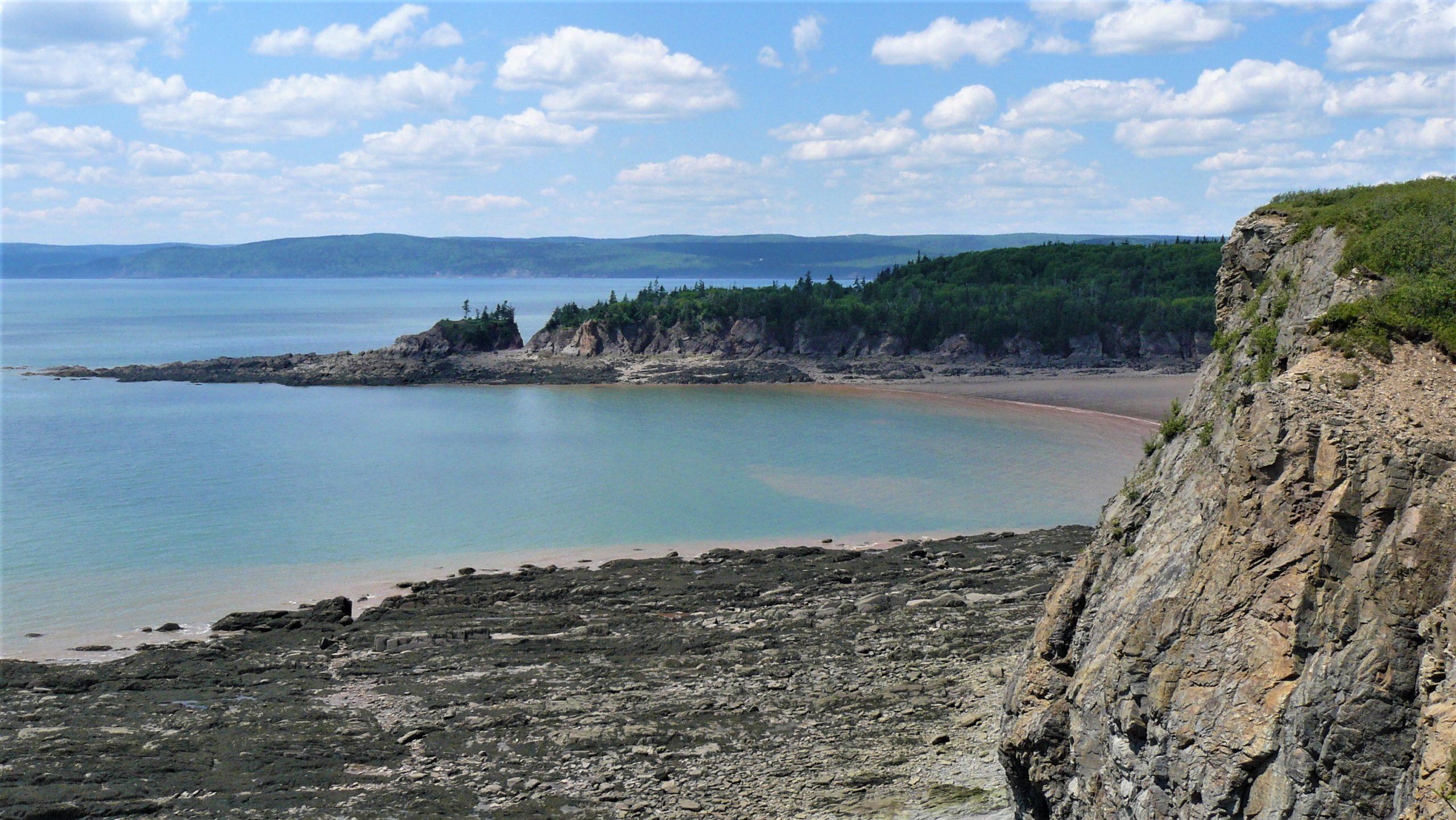 Cape Enrage Pebble Beach baie de Fundy que voir nouveau-Brunswick idées sortie