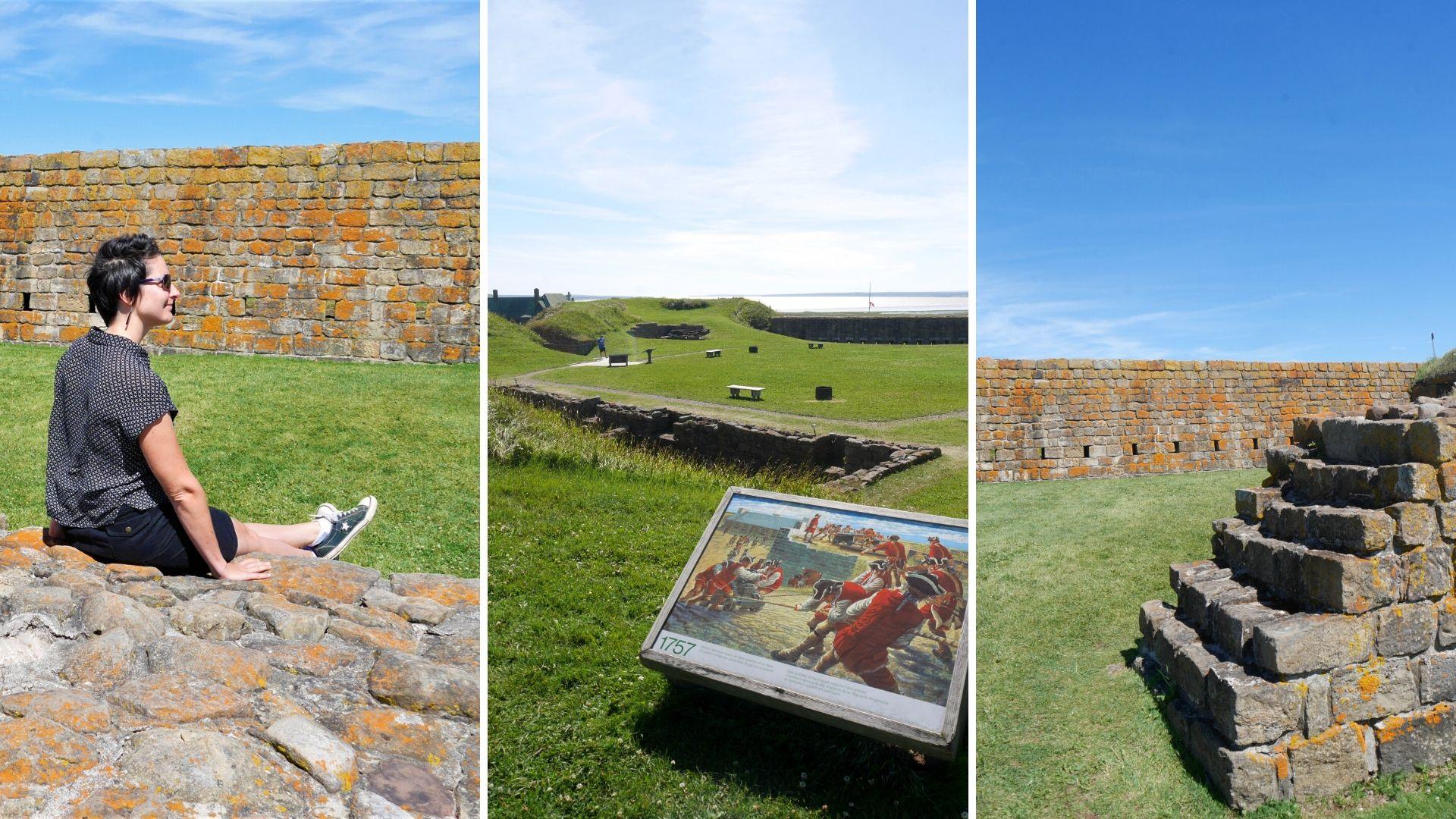 Fort Beauséjour-Fort Cumberland Nouveau-Brunswick que voir Canada infos pratiques