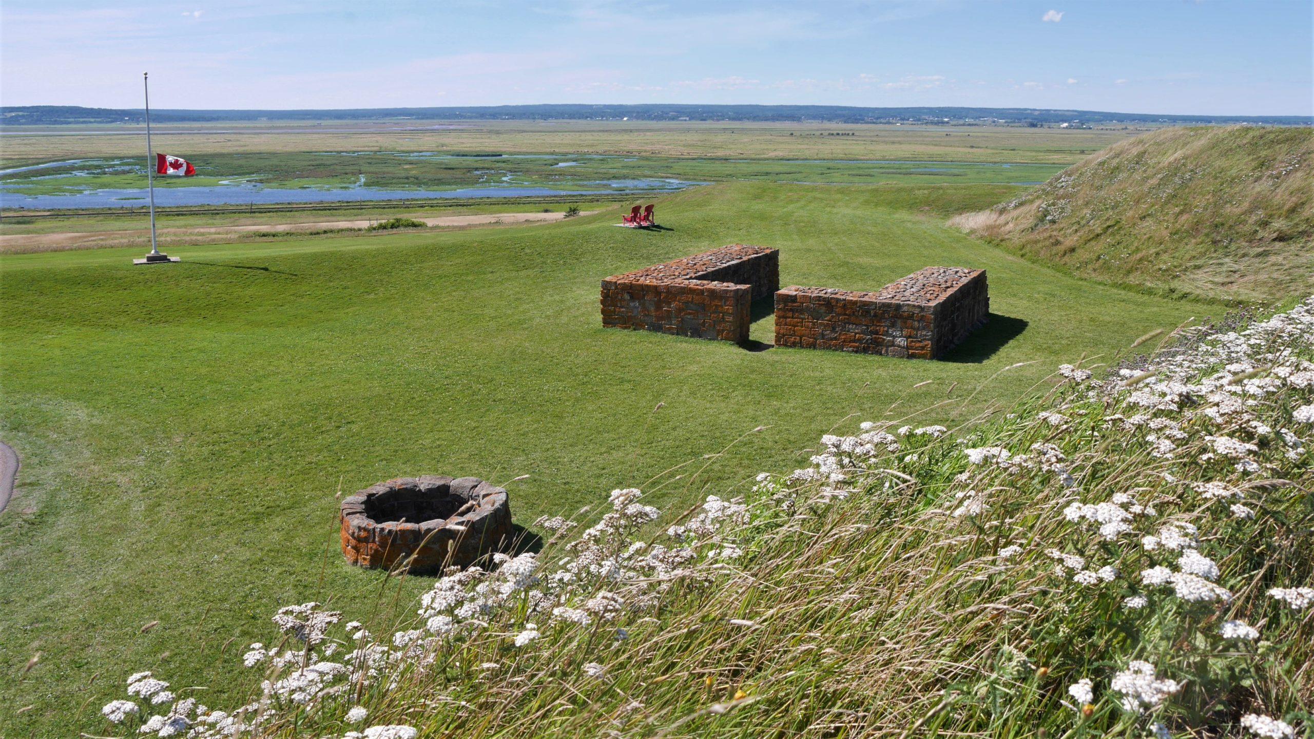Fort Beauséjour lieu historique canada Nouveau-Brunswick