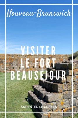 Que voir au Fort Beauséjour, Nouveau-Brunswick, Canada __ Arpenter le chemin, blog de voyage