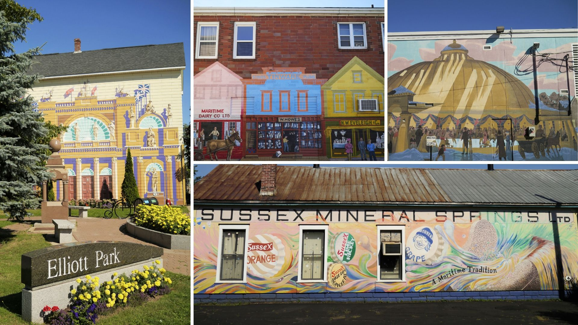 Sussex NB fresques murales