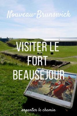 Visiter le Fort Beauséjour __ Nouveau-Brunswick, Canada