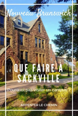 Activités autour de Sackville, Nouveau-Brunswick, Canada __ Arpenter le chemin, blog de voyage