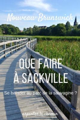 Que faire autour de Sackville __ Nouveau-Brunswick, Canada