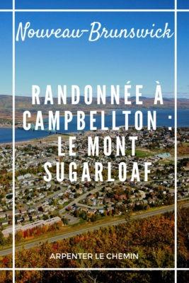 Randonnée à Campbellton, Nouveau-Brunswick, Canada __ Arpenter le chemin, blog de voyage