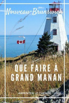 Activités sur l'île de Grand Manan, Nouveau-Brunswick, Canada __ Arpenter le chemin, blog de voyage