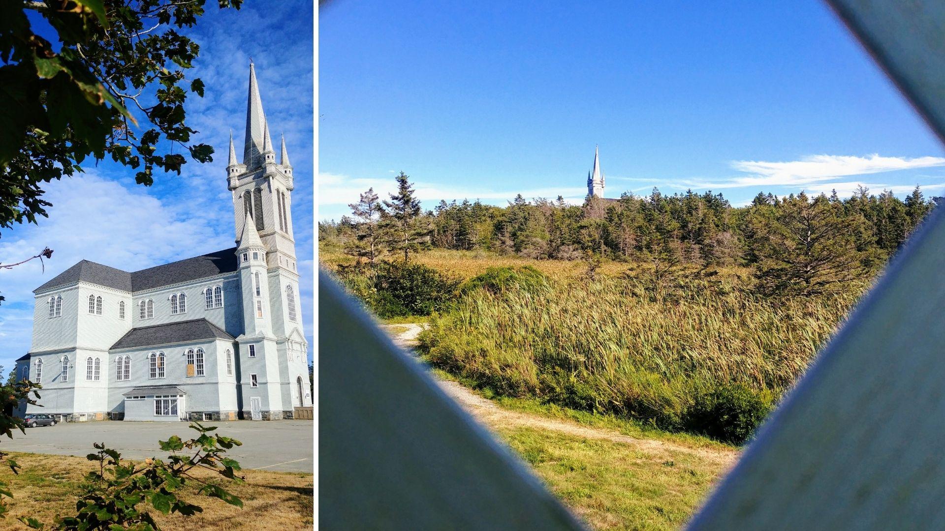 Église Sainte-Marie Clare Baie-Sainte-Marie Nouvelle-Écosse Yarmouth infos pratiques